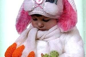 Вяжем малышам шарф